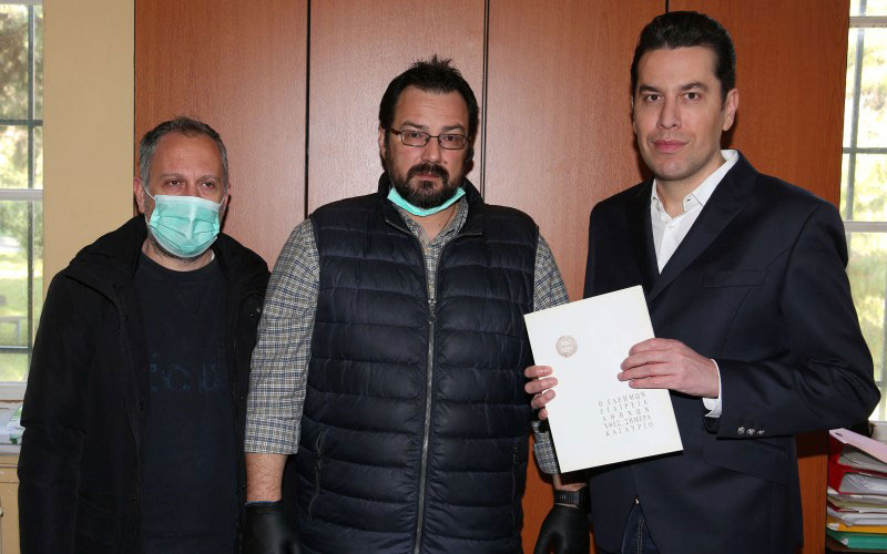 Γιάννης Διονυσόπουλος, Κωνσταντίνος Κεραμίδας, Χάρης Σιανίδης