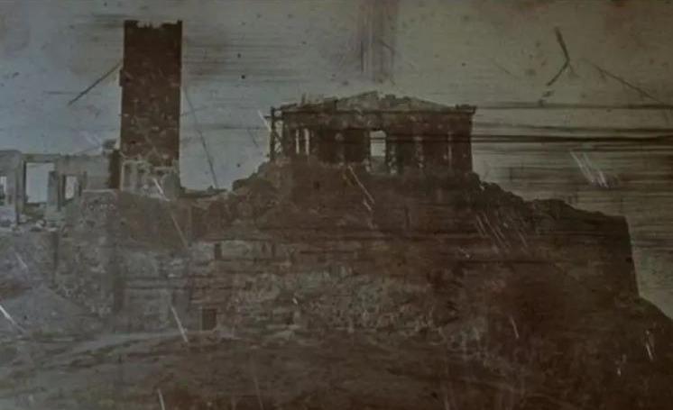 Athens - Greece 1842 Josepf-Filibert Girault de Prangey